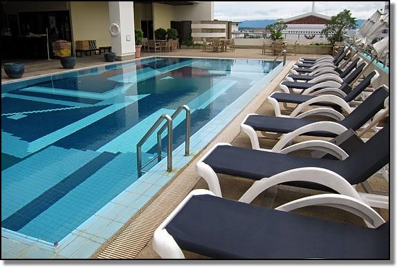 Pool At The Centara Hotel Hat Yai