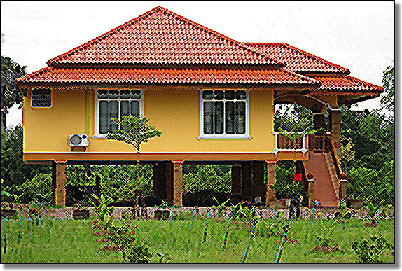 Thai style house plans 28 images modern thai house for Thai style house plans