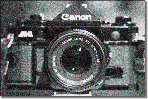 My trusty old Canon A1