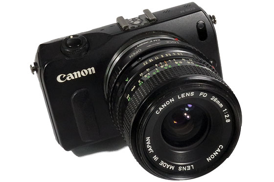 Canon FD 28mm f/2 8 Manual Focus Lens Real World Review
