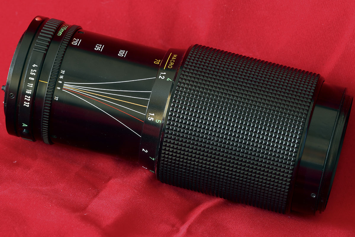 Canon FD 70-210mm f/4 Manual Focus Lens Real World Review