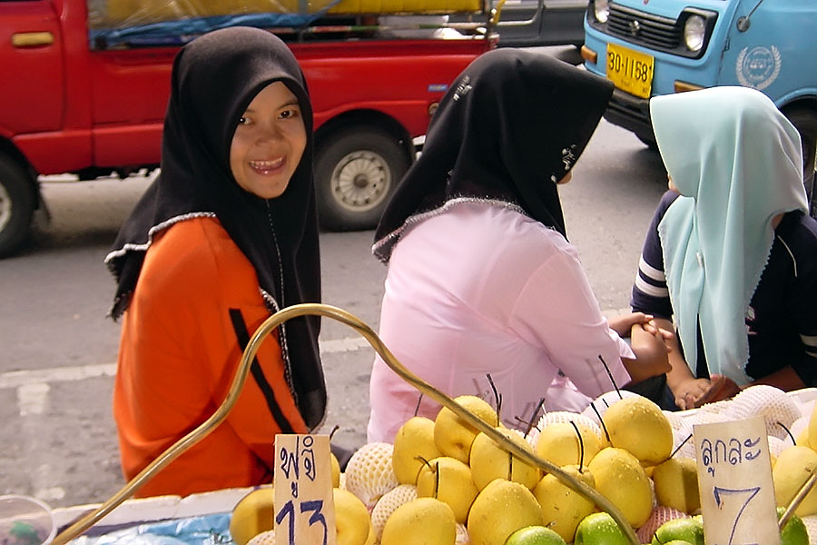 Young Muslim girl in Songkhla province