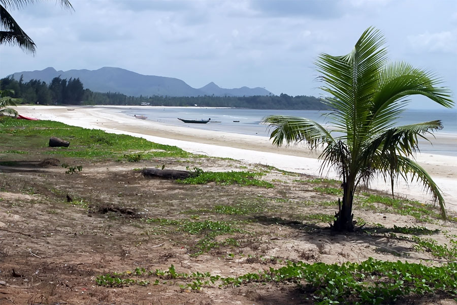 Chumphon has miles of coastline and deserted beaches with hardly a foreign tourist in sight