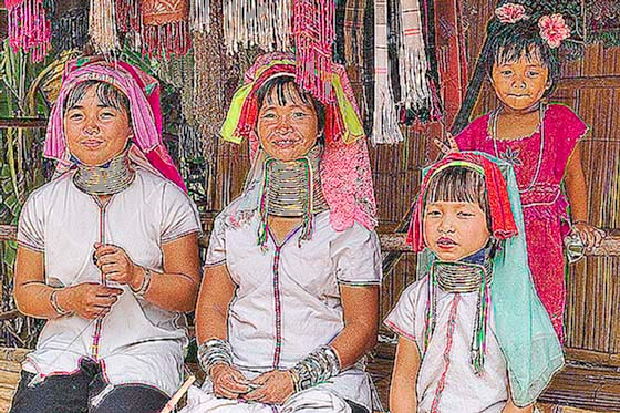 Hill tribe villagers, Chiang Rai