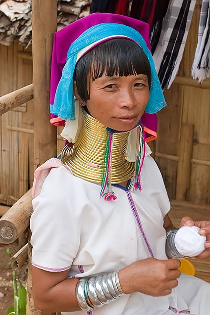 Long-necked Karen woman, Chiang Rai