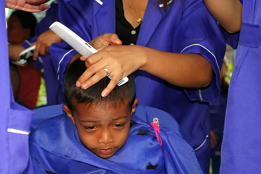 Free Haircuts On Childrens' Day