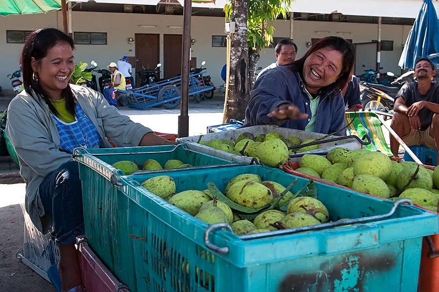 Nakhon Sri Thammarat has a huge fresh fruit market
