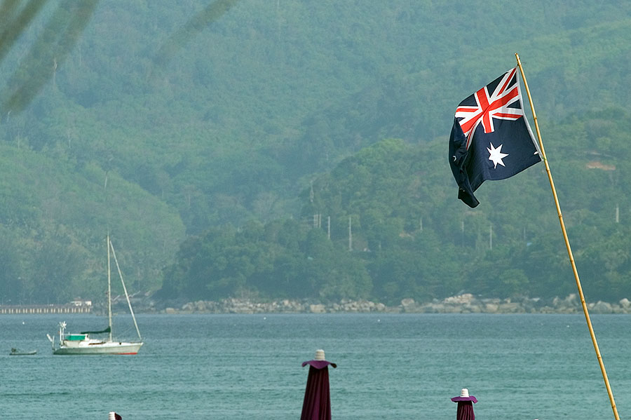 There is now a big Australian presence in Phuket after a number of problems in Bali
