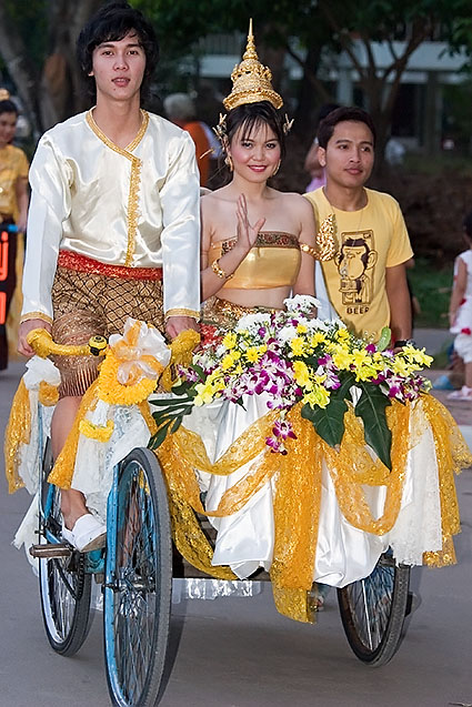 Loy Gratong Day Parade, Thailand