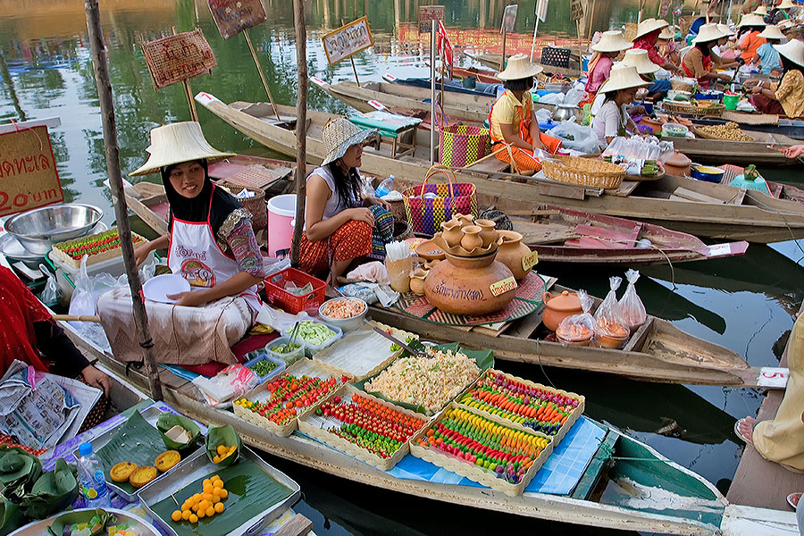 My local floating market