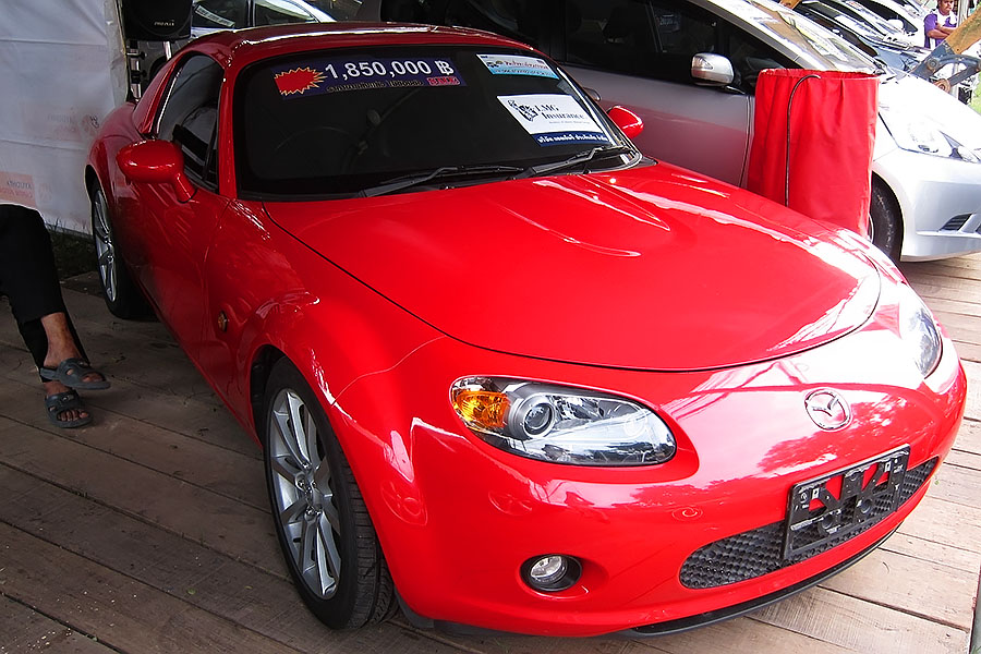 A Porsche-priced used Mazda MX5 for sale in Thailand