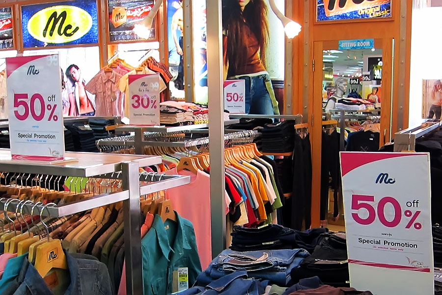 Everything is always on sale in Hat Yai 365 days a year