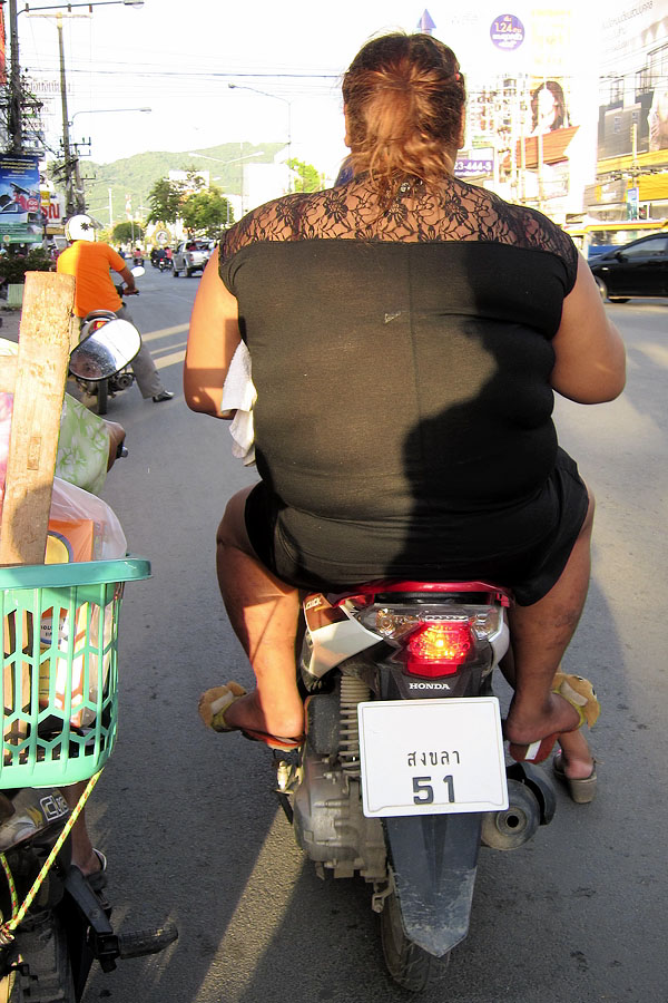 A common sight in the West, but very rare in Thailand