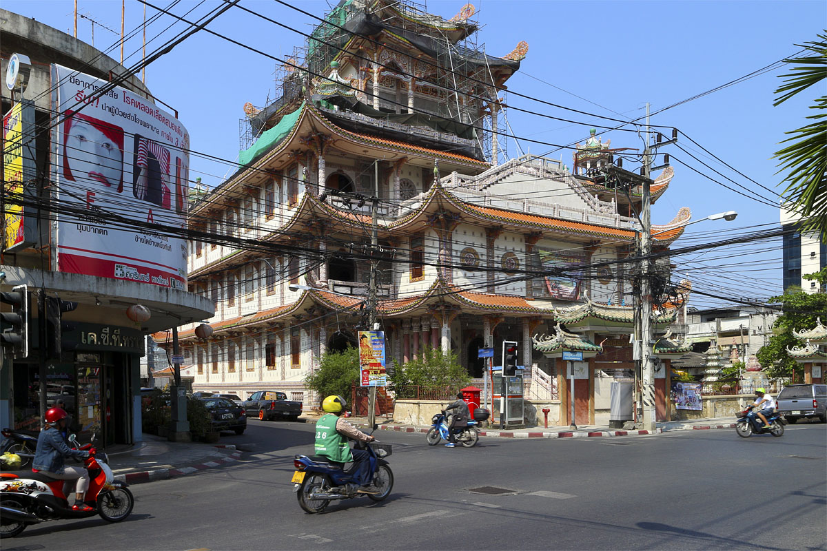 Cheo Chaang Temple, Hat Yai, 11 February 2015