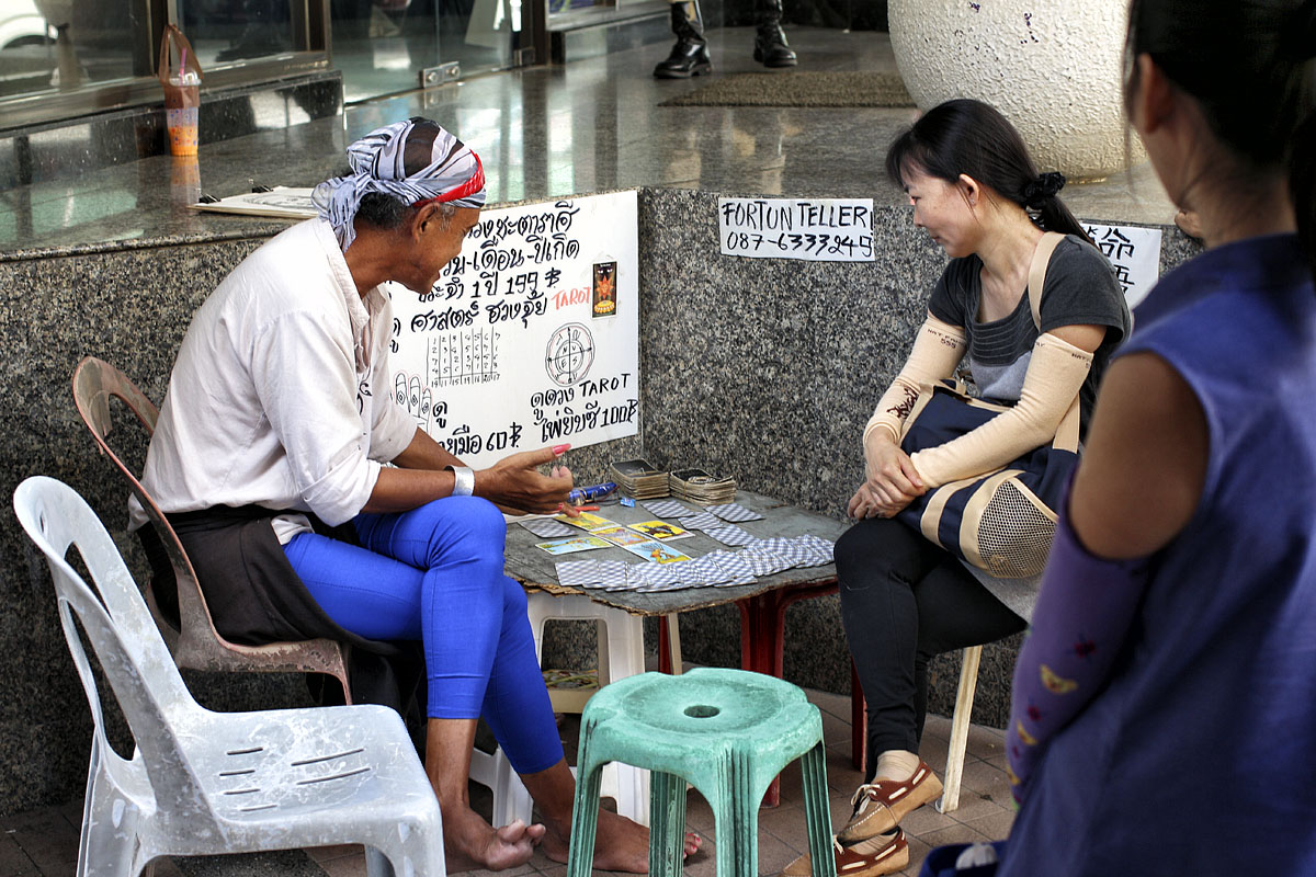 Fortune telling in Thailand