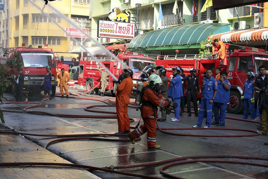 Fire at Cathay Guest House, Hat Yai, Thailand