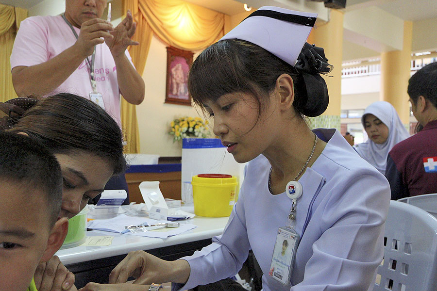 A lovely Thai nurse