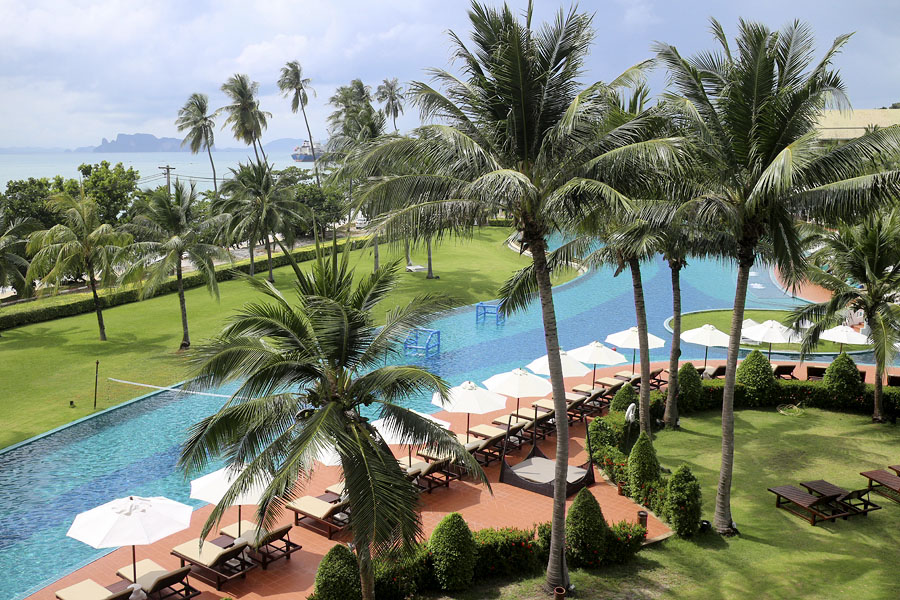 View from bedroom, Sofitel Krabi Phokeethra Golf and Spa Resort