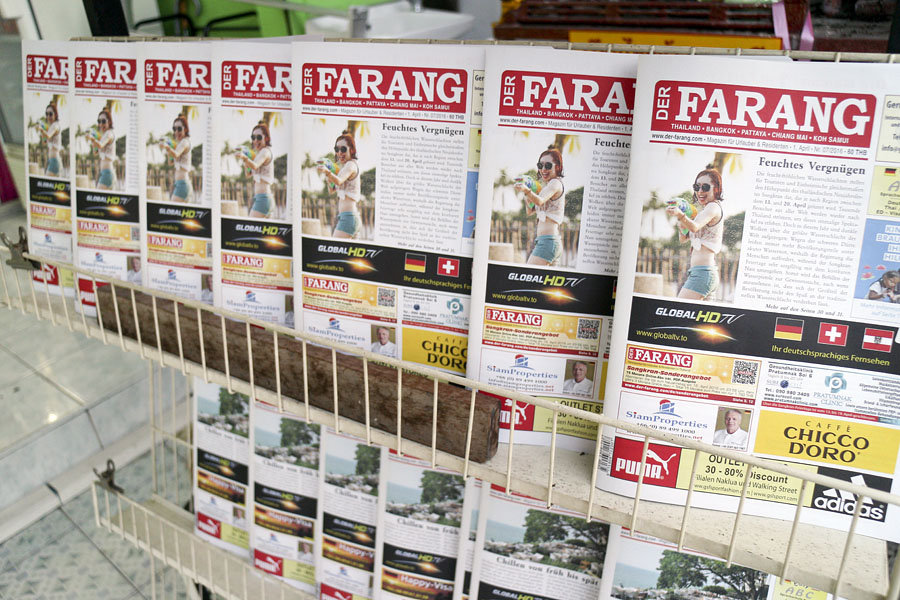 A magazine written by farangs for farangs in Pattaya