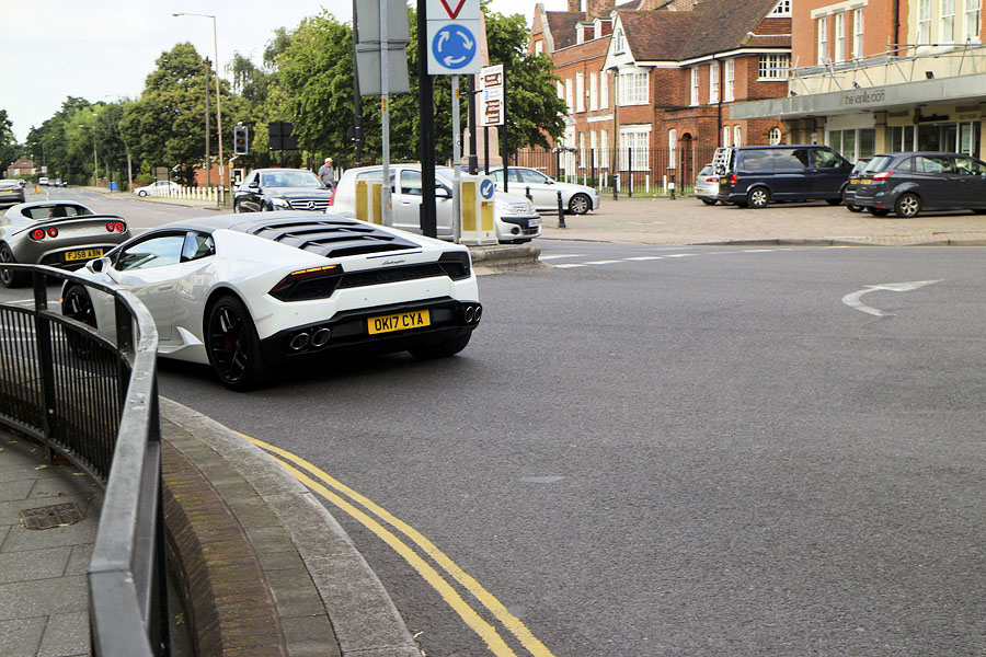 My home town was full of very expensive cars