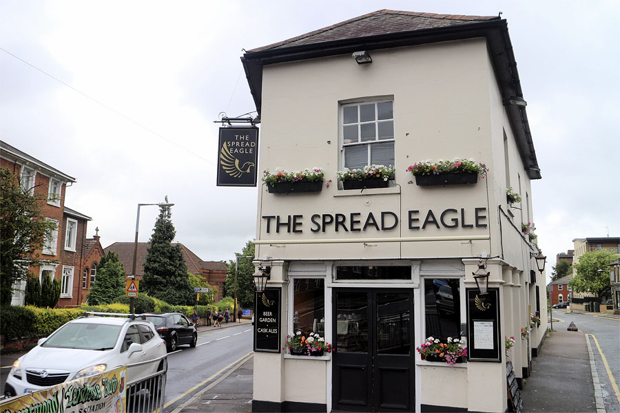 The Spread Eagle, Brentwood