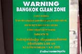 Bangkok clean zone  - Click for larger image