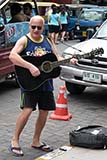 Busking in Hat Yai - Click for larger image