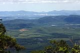 View from the top of the mountain with Hat Yai in the distance - Click for larger image