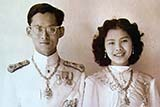 Their Majesties, the King and Queen - Click for larger image