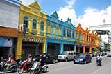 Painted shophouses - Click for larger image