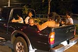 Thais in a pickup truck - Click for larger image