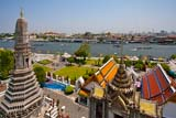 The view from Wat Arun - Click for larger image
